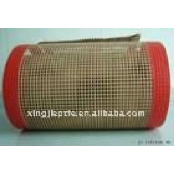 teflon/PTFE coated fiberglass open mesh conveyor belt